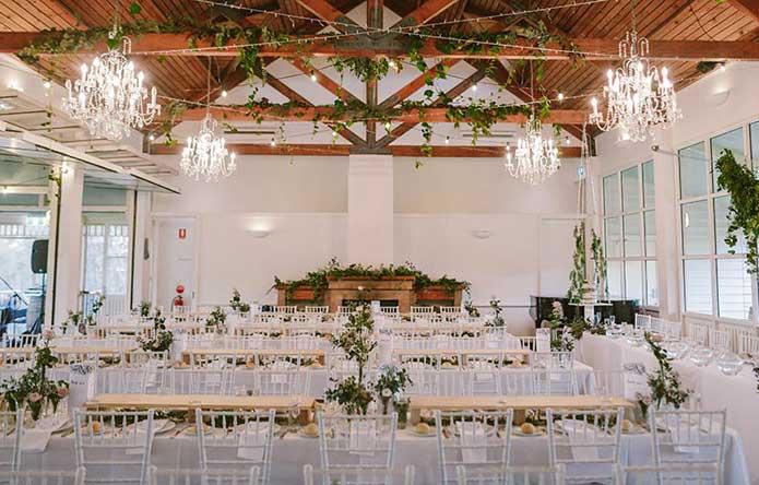 Wandin Wedding Reception Lovedale Hunter Valley